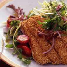 Southern-Fried Flounder Salad