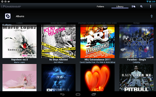 poweramp-music-player-trial for android screenshot