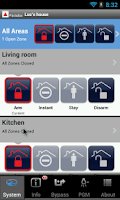 Screenshot of iParadox – Alarm Control