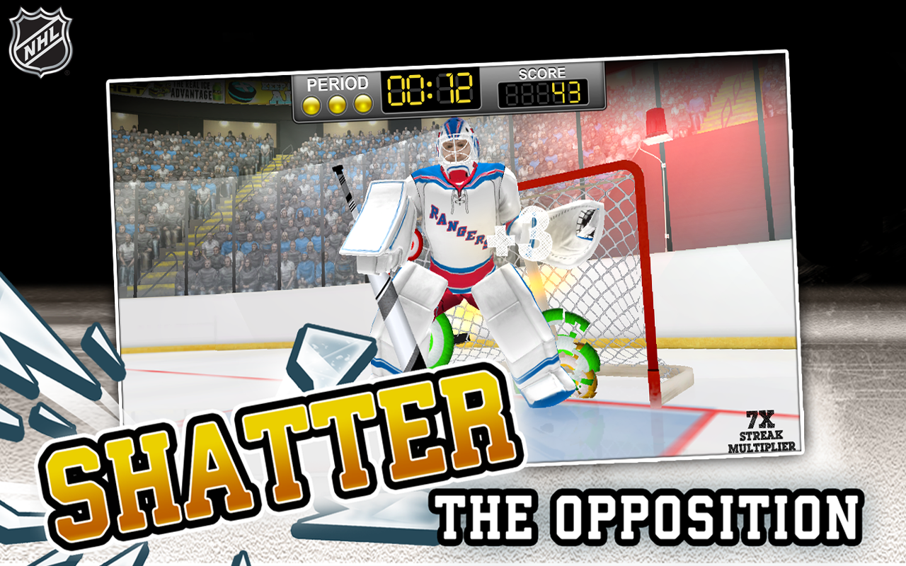 NHL Hockey Target Smash Screenshot 12