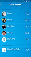 Screenshot of Mitt Telenor