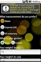 Screenshot of Alcohol Optimizer