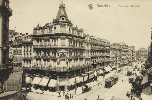 Bruxelles. Boulevard Anspach
