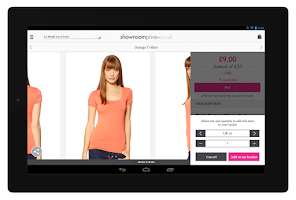 Screenshot of Showroomprive