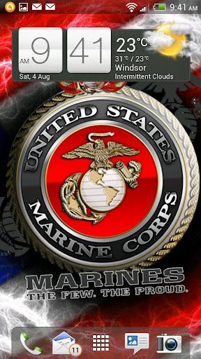 USMC Live Wallpaper HD FULL