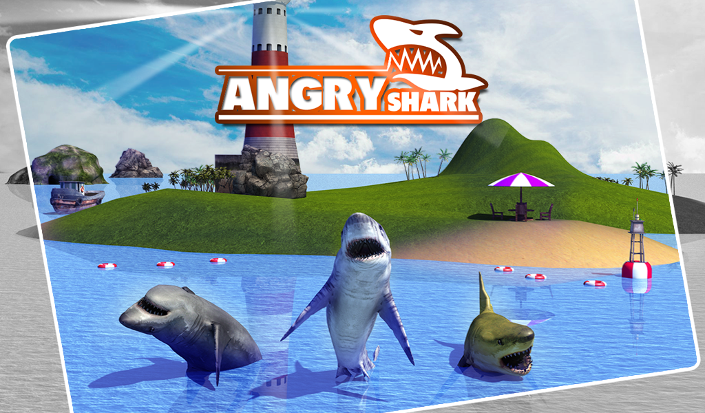 Angry Shark Simulator 3D Screenshot 9