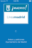 Screenshot of Avisos Madrid