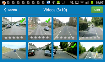Screenshot of Theory Test +Hazard Perception