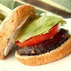 Grilled Portabello Burger