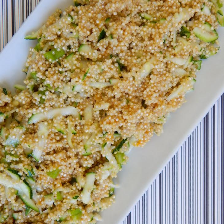 Cheesy Zucchini Quinoa Recipe | Yummly