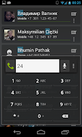 Screenshot of Intelliphone dialer