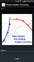 Screenshot of Precision Weather Forecasting