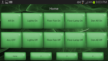 Screenshot of Home Automation Controller