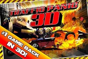 Screenshot of Traffic Panic 3D