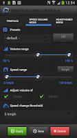 Screenshot of Smart Volume Control