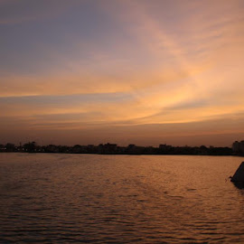 landscapes by Saisubbireddy Potamseeti - Landscapes Weather ( minitankband, sky, nature, sunset )
