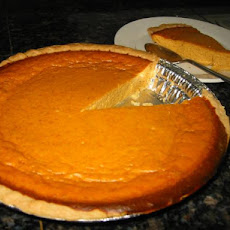 Splenda Pumpkin Pie