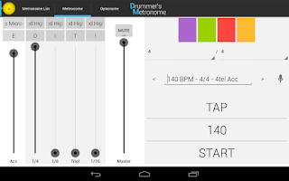 Screenshot of Drummer's Metronome