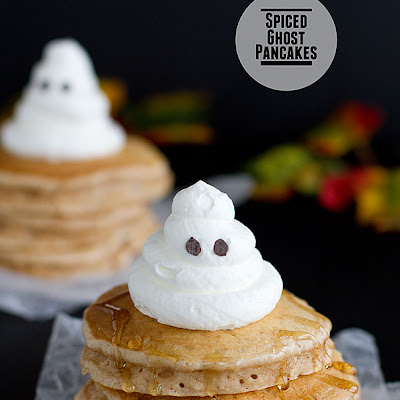 Spiced Ghost Pancakes