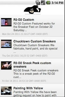 Chucktown Custom Sneakers - screenshot