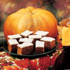 Harvest Pumpkin Brownies