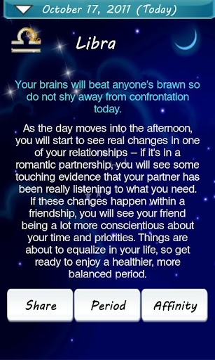 horoscope-plus for android screenshot