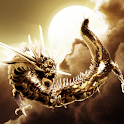 Gold Dragon Cloud icon