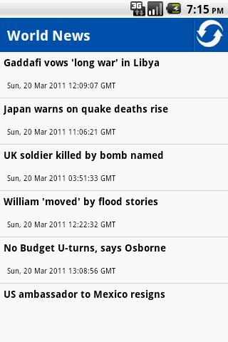 World News Top Stories