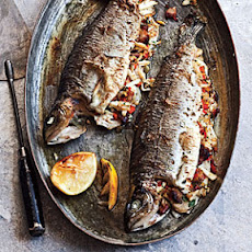Lump Crab-Stuffed Trout