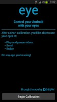 Screenshot of eye - Eye Tracking Prank App