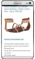 Screenshot of Shoes - Daily Deals & Coupons