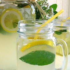 Fresh Minted Lemonade