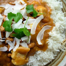 Peanut-Coconut Chicken Curry (Lower Fat)