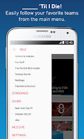 Screenshot of MLS