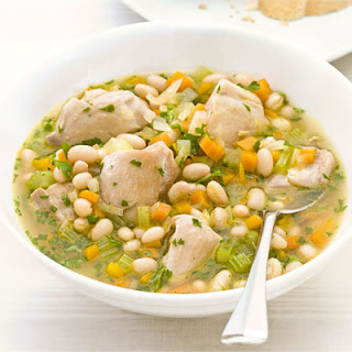 Chicken Thighs White Beans Recipes