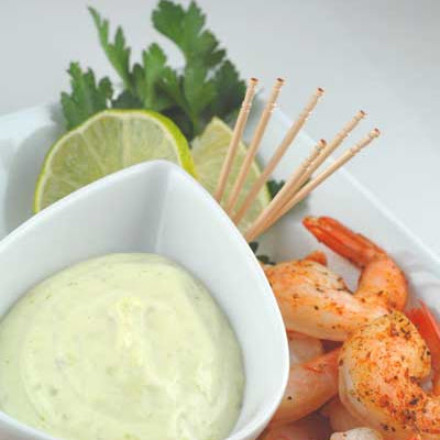 Gluten Free Roasted Shrimp with Wasabi Cocktail Sauce
