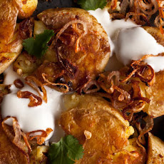 Crispy Curried New Potatoes