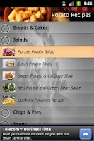 Screenshot of Potato Recipes
