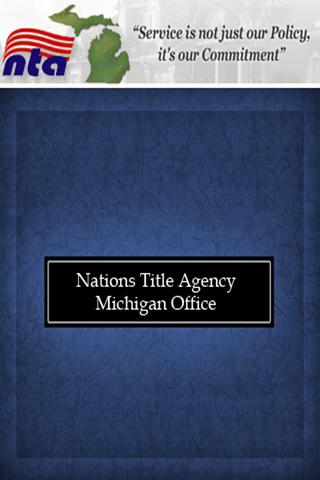 Nations Title Agency Michigan