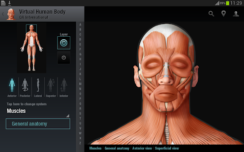 3d human anatomy dictionary free download