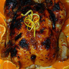 Roasted Orange Ginger Chicken