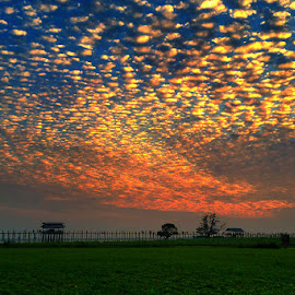 Colorful Dancing Cloud !!!! by Myo Oo - Landscapes Cloud Formations