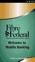Screenshot of Fibre Federal Mobile Banking