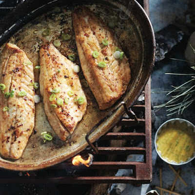 Fresh Walleye With Mustard-dill Sauce