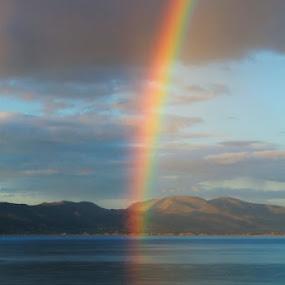 Irish Rainbow by Sandy Darnstaedt - Landscapes Travel (  )
