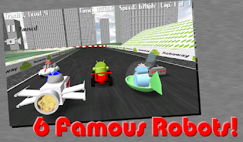 Screenshot of Race the Robots