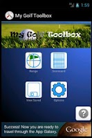 Screenshot of My Golf Toolbox
