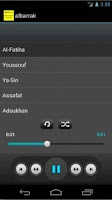 Screenshot of Quran mp3 (Mohammad Albarrak)