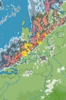 Screenshot of Weer Radar Nederland