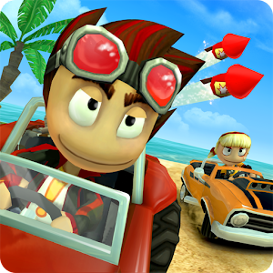 The amazing free 3D kart racing game. Race, collect, upgrade and win! APK Icon